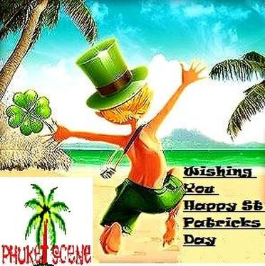 st patricks day in phuket