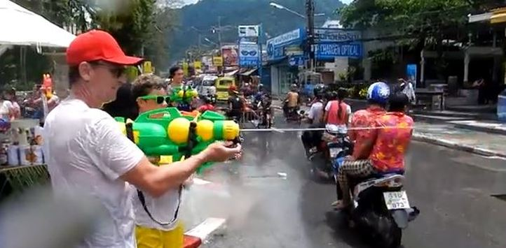 songkran thai new year